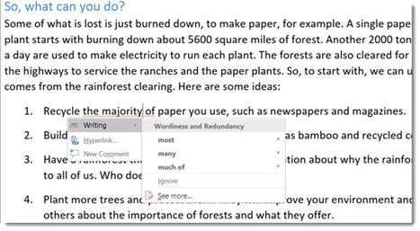 Microsoft Word estrena nuevo asistente de escritura y herramienta de investigación | Aprendiendoaenseñar | Scoop.it