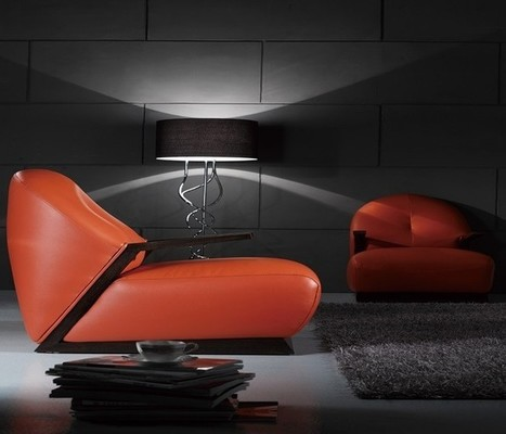 Red Leather Love Seat | MeublesBH | Scoop.it