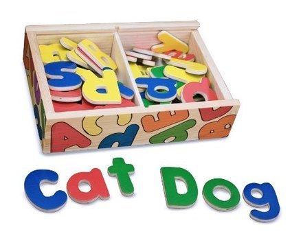 Melissa & Doug Magnetic Wooden Alphabet | Top Toys 2015 | Scoop.it