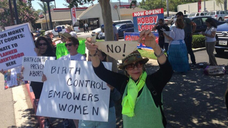 Protesters Rally Against Supreme Court Ruling At Burbank Hobby Lobby Store - CBS Local | Activism, Protest, Citizen Movements, Social Justice | Scoop.it