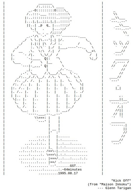 Anime ASCII Art Collection | ASCII Art | Scoop.it