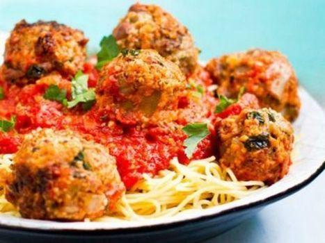 Spaghetti con polpette vegetariane - vera classe | Mangiare diverso | Scoop.it
