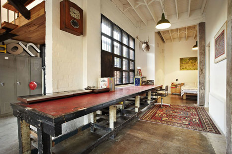 Amazing Warehouse Apartments Conversion in Melbourne | Raw and Real Interior Design | Scoop.it