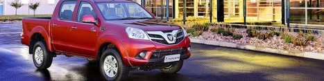 An ultimate machine designed for unlashing your dreams | The Foton Tunland is a powerful vehicle in New Zealand | Scoop.it