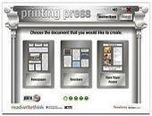 Met Printing Press maken je leerlingen online een eenvoudige klassenkrant, brochure of flyer « Manssen.nl - It's all in the Cloud! | Web 2.0 tools: Mediawijsheid PO | Scoop.it