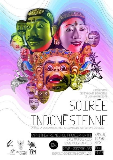 Evénement: soirée Culturelle Indonésienne organisée par PPI Lyon ce 13 avril 2013. | Scoop Indonesia | Scoop.it