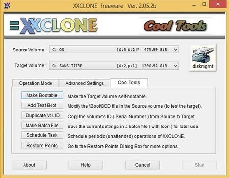 XxClone - Mieux qu'une sauvegarde, un clonage de votre disque | Time to Learn | Scoop.it