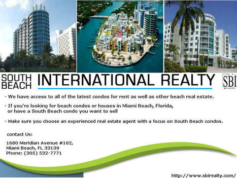 23: South Beach Investment Realty condos and homes for sale... - sbirealty | sbirealty | Scoop.it