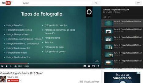 Curso gratuito de Fotografía básica en 10 vídeos   Educativas   Scoop.it