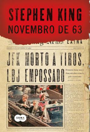 Novembro de 63 - Stephen King | Ficção científica literária | Scoop.it