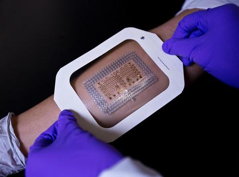 Researchers Develop New Way to Produce Flexible Electronic Skin Patches | Medgadget | Génie biomédical clinique | Scoop.it