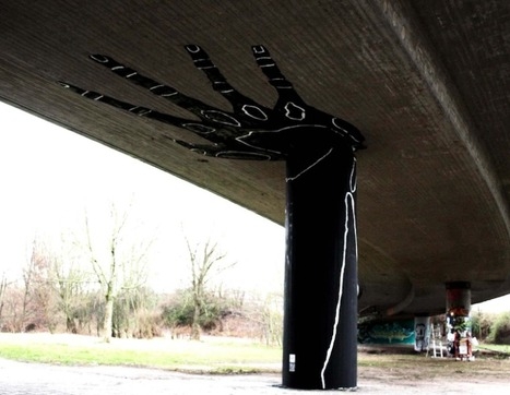 """""""Holding Hand"""" – By Dome in Karlsruhe, Germany 