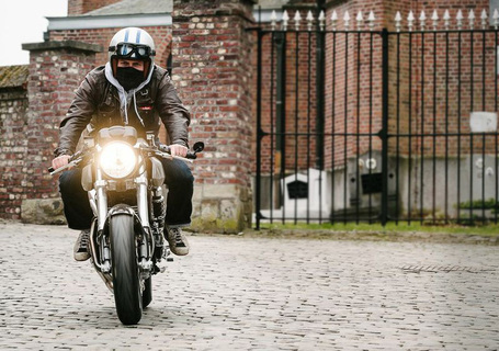 Flying Hermans' Ducati Cafe Racer | the Bike Shed | Ductalk | Scoop.it