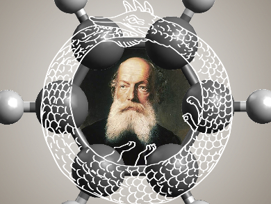 It Began with a Daydream: The 150th Anniversary of the Kekulé Benzene Structure | Cool Science | Scoop.it