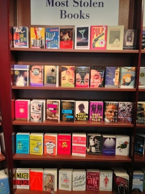 The most frequently stolen books | Library world, new trends, technologies | Scoop.it
