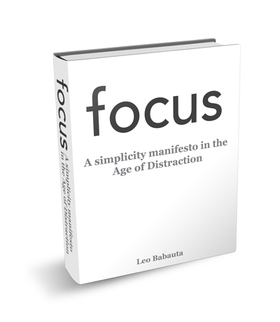 focus : a simplicity manifesto in the age of distraction | Cismedia. The Trans-Anti. | Scoop.it