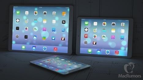 Les iPhone et iPad XL arriveraient en 2014 - Mac in Poche | L'univers de la Pomme | Scoop.it