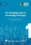 The changing state of knowledge exchange: UK academic interactions with external organisations 2005 -2015 | Higher education news for libraries and librarians | Scoop.it