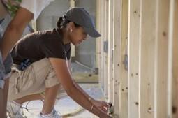 L'art de la construction, une affaire de femme ? | Céka décore | Scoop.it