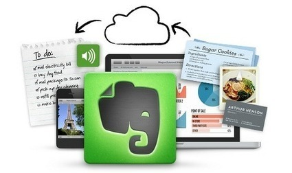 Synchronisez vos notes avec Evernote | François MAGNAN - Documentaliste et Formateur Consultant | Scoop.it