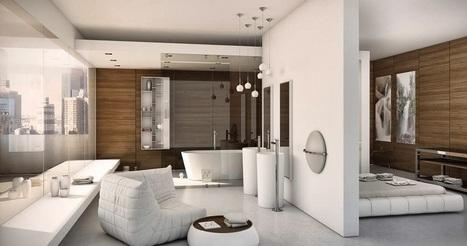 Baño integrado en el dormitorio - JR sink Fontanería | Diseño en baños | Scoop.it