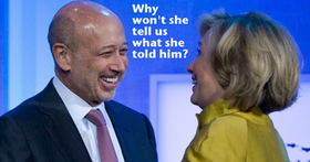 Make Public the Transcript and Video of Hillary's Speeches to Goldman Sachs | Global politics | Scoop.it