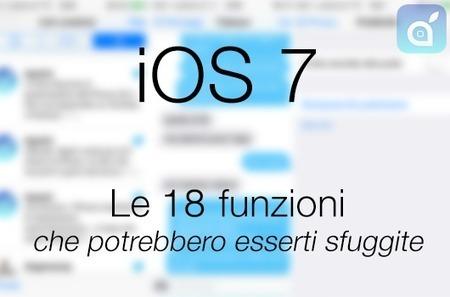iOS 7: Ecco le 18 funzioni che potrebbero esserti sfuggite [AGGIORNATE a 21] - iSpazio – IL Blog Italiano per le Notizie sull'iPhone 5 e sull'iPod Touch di Apple con recensioni di Applicazioni e Gi... | Apple | Scoop.it