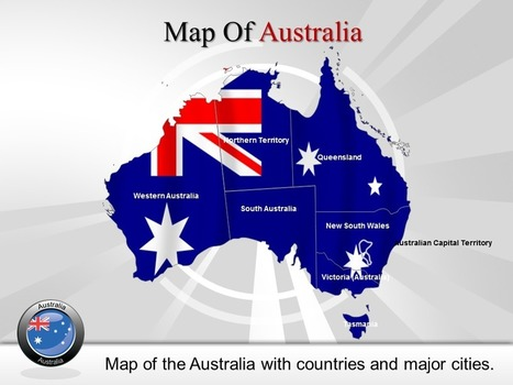 Get Online Australia Powerpoint Maps and Background | PowerPoint Maps | Scoop.it