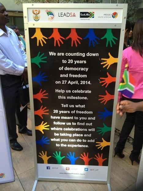 Celebrate by counting down to 20 years of democracy & freedom | Joburg Photos | Scoop.it