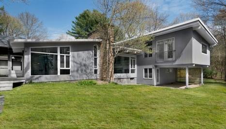 Réhabilitation d'une maison des années 40 en joli cocon contemporain | Immobilier International | Scoop.it