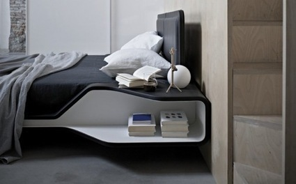 All Tucked Away: 10 Clever Storage Beds | Designing Interiors | Scoop.it