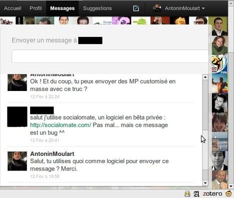 Le début de la fin des messages privés sur twitter ? | #Twitter #trends #tendances | Social Media Fr | Scoop.it