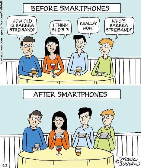 Σκίτσα δείχνουν πόσο άλλαξε ο κόσμος… προς το χειρότερο! | omnia mea mecum fero | Scoop.it