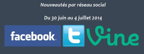 Récapitulatif des dernières fonctionnalités par réseau social : du 30 juin au 4 juillet 2014 - Clément Pellerin - Community Manager Freelance & Formation réseaux sociaux | Facebook | Scoop.it