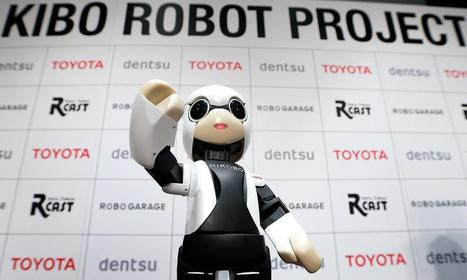 Toyota robot booked for first chat with human in space - Automotive News   Cutting Edge Technologies   Scoop.it