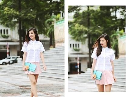 Học Đông Nhi mặc đẹp ngày mưa | vantai123.com | Scoop.it