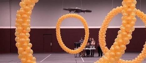 Un drone contrôlé par la pensée [Vidéo] | bambou148 | Scoop.it