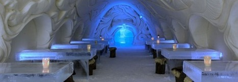 Insolite : un hôtel fait tout en glace | Blog voyage | Info-Tourisme | Scoop.it