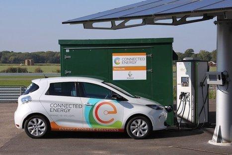 Des batteries en seconde vie réutilisées pour la recharge rapide des véhicules électriques   Groupe Recharge   Scoop.it
