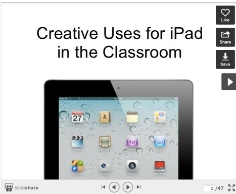 4 Great Resources for Using iPad in Your Classroom ~ Educational Technology and Mobile Learning | APRENDIZAJE | Scoop.it