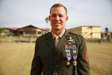 Camp Pendleton Marine receives Silver Star for bravery in Afghanistan - Los Angeles Times | military | Scoop.it