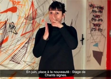 Juin en LSF : Stage de Chant Signe | Histoire, généalogie et sourds | Scoop.it