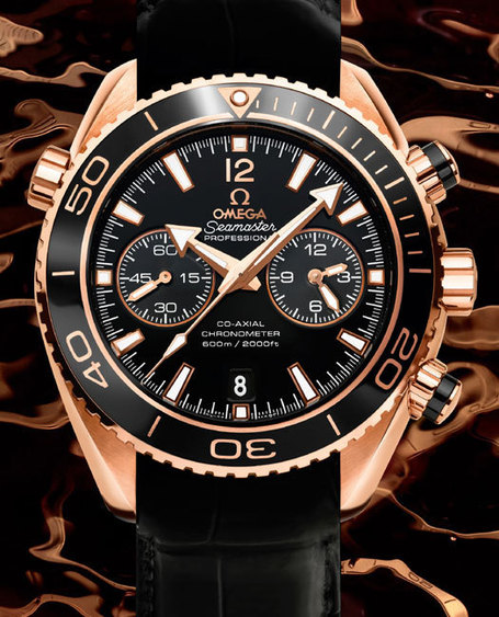 Omega Seamaster Planet Ocean Ceragold | Montre, Horlogerie,Chronos | Scoop.it