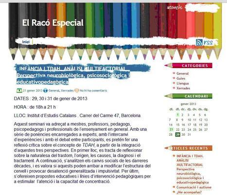 El Racó Especial | ACTIVITATS EDUCATIVES | Scoop.it