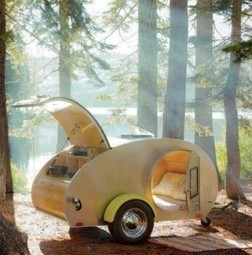 Cute Camper - Camping minimaliste | ART on www.WikiLinks.fr | Scoop.it
