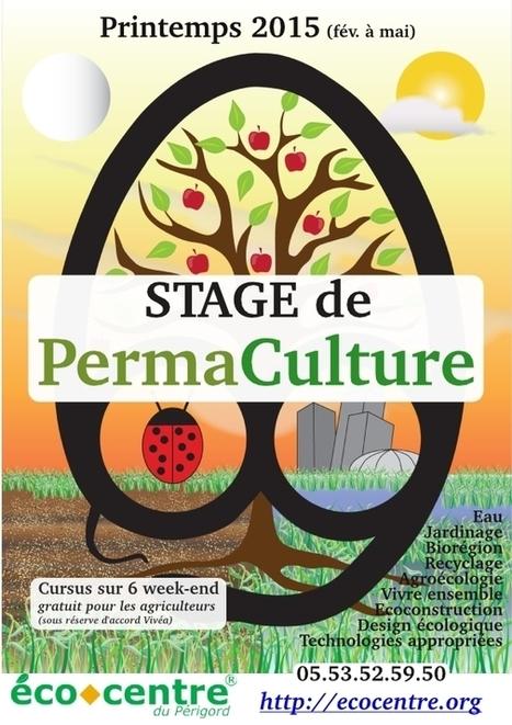 Cours de design en permaculture | Écocentre Périgord - Limousin | du village autonome... | Scoop.it