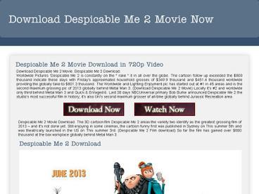 Download Despicable Me 2 Movie | Movie | Scoop.it