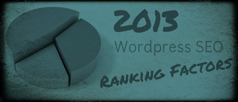 2013 Wordpress SEO Ranking Factors #Moz [Report] | Search Engine Optimization-SEO | Scoop.it