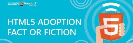 Infographic: HTML5 adoption fact or fiction | 7plusDezine | Web & Graphic Design | Scoop.it