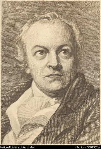 Digital Collections - Pictures - Portrait of William Blake [picture] | The Romantics | Scoop.it